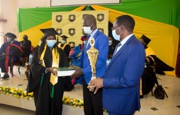 JKF Awards top Student at KSL 2021